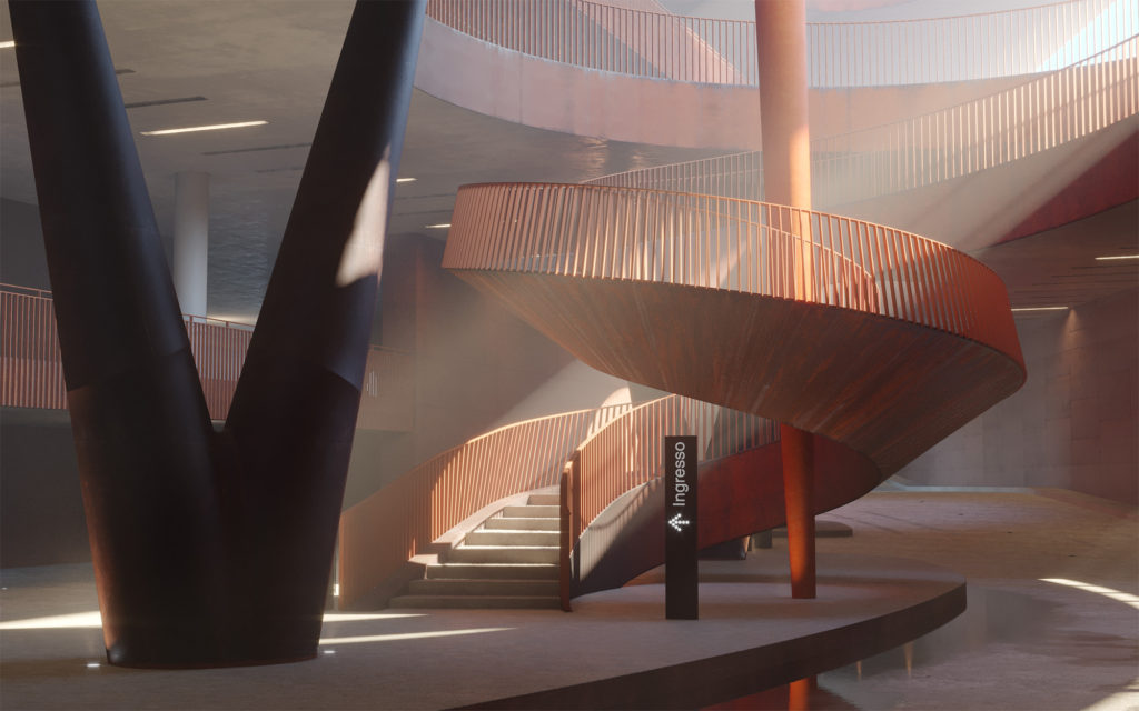 3D Rendering Winery