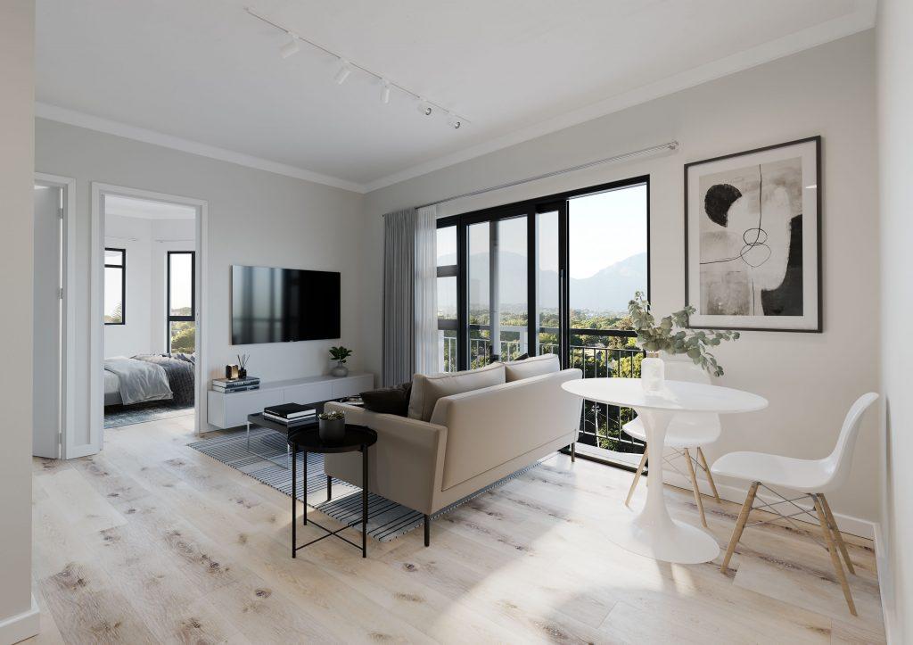Malton Apartment Interior 3D Render
